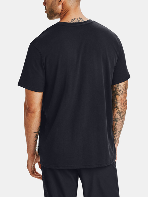 Tričko Under Armour CURRY EMBROIDERED TEE-BLK