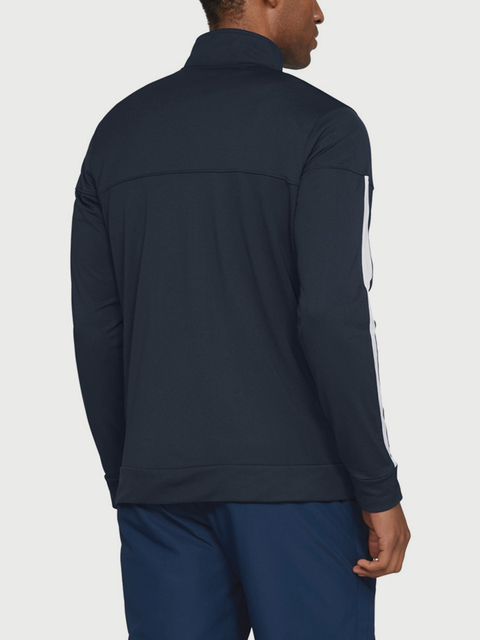 Bunda Under Armour SPORTSTYLE PIQUE TRACK JACKET-GRN