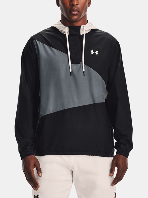 Bunda Under Armour WOVEN CREST ANORAK-BLK
