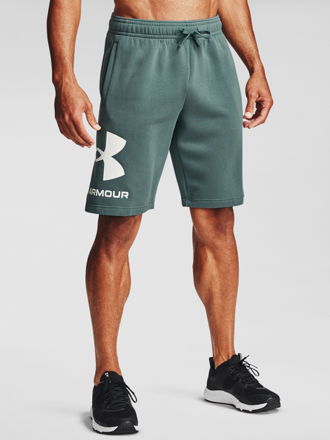 Kraťasy Under Armour UA Rival FLC Big Logo Shorts-BLU