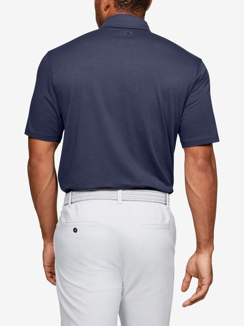 Polo tričko Under Armour Charged Cotton Scramble Polo-BLU