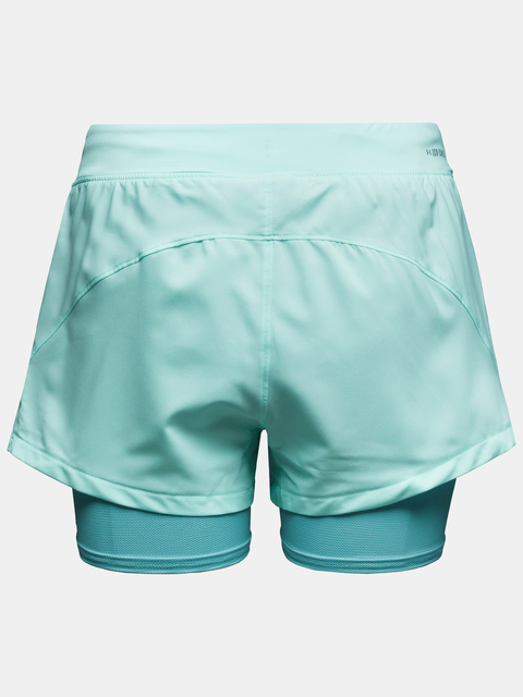 Kraťasy Under Armour UA IsoChill Run 2N1 Short-BLU