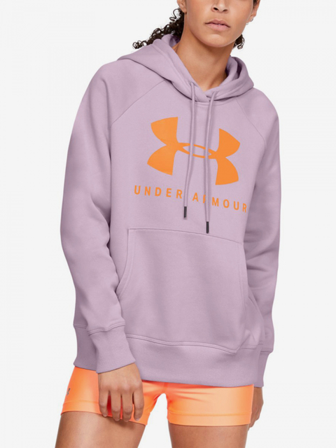Mikina Under Armour Rival Fleece Sportstyle Graphic Hoodie-P