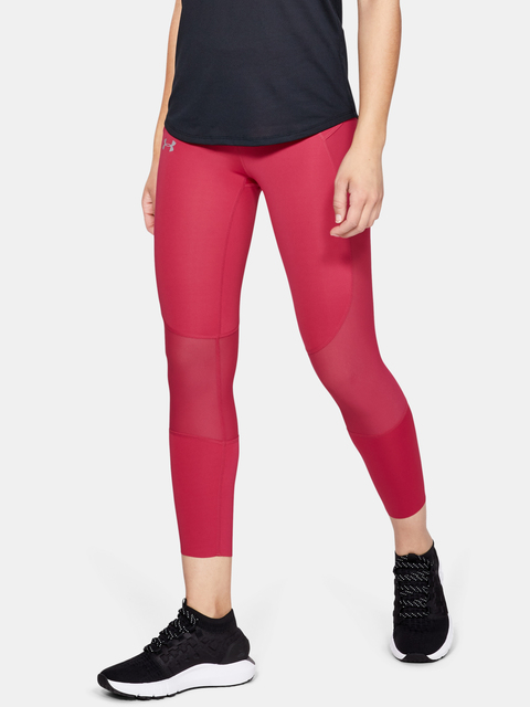 Legíny Under Armour SpeedPocket Run Crop-PNK