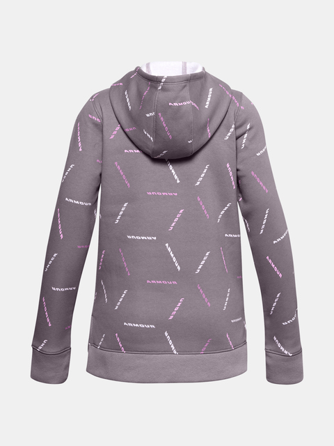 Mikina Under Armour Rival Fleece Printed Hoodie-PPL