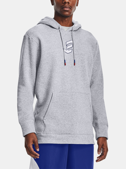 Mikina Under Armour UA EMBIID SIGNATURE HOODY-GRY