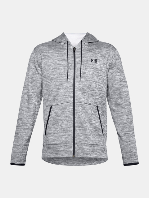 Mikina Under Armour UA Armour Fleece FZ Hoodie-GRY