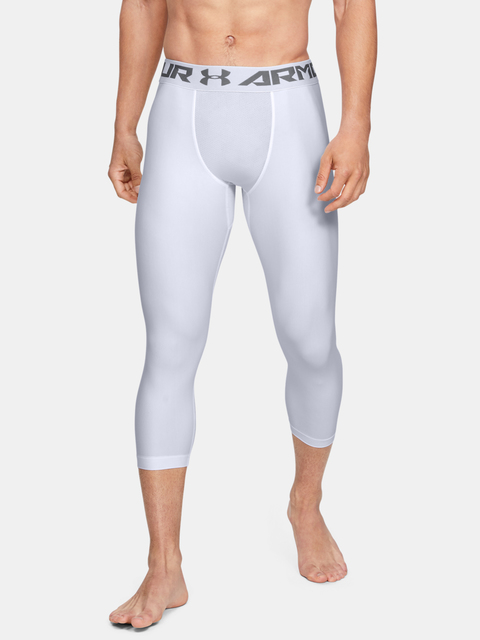 Legíny Under Armour HG ARMOUR 2.0 3/4 LEGGING-WHT