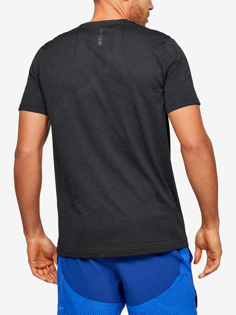 Tričko Under Armour Rush HG Seamless Fitted SS-BLK