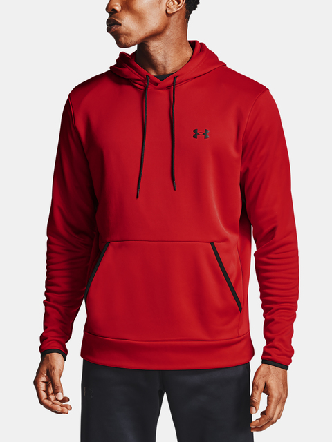 Mikina Under Armour Armour Fleece HD-RED