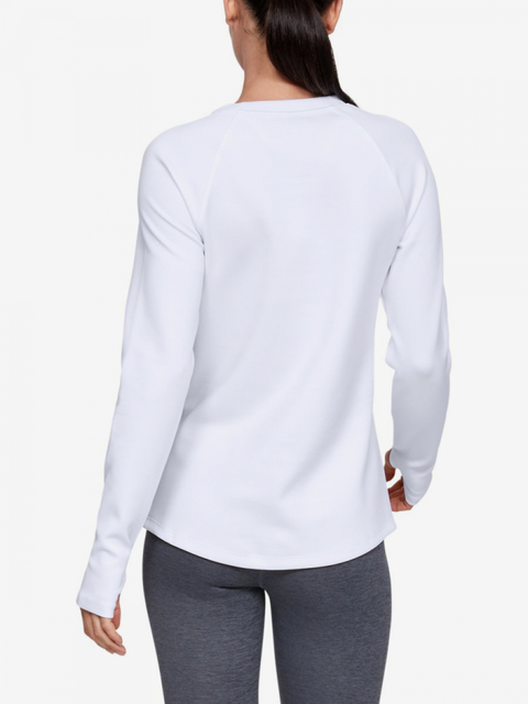 Tričko Under Armour CG Armour LS-WHT