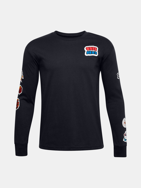 Tričko Under Armour  Boys Graphic LS Tee