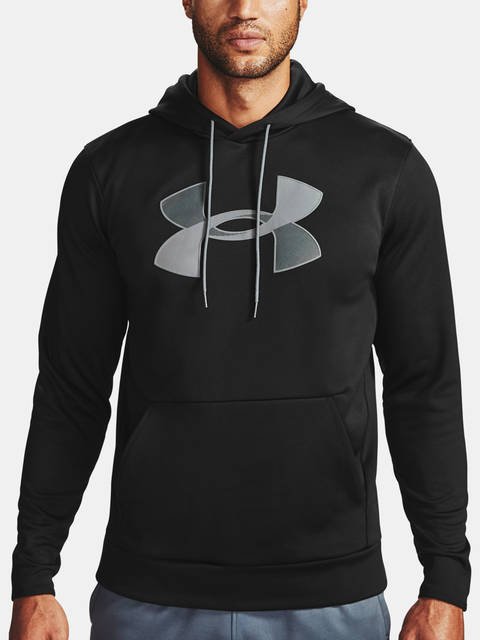 Mikina Under Armour Armour Fleece Big Logo HD-BLK