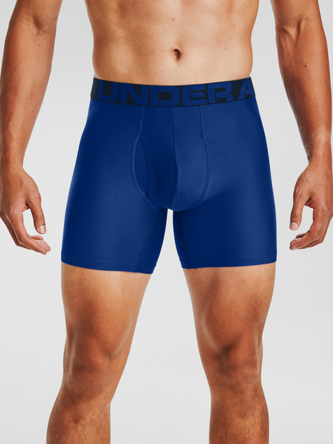 Boxerky Under Armour UA Tech 6in 2 Pack-BLU