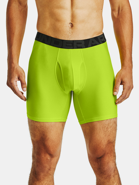 Boxerky Under Armour UA Tech 6in 2 Pack-GRN