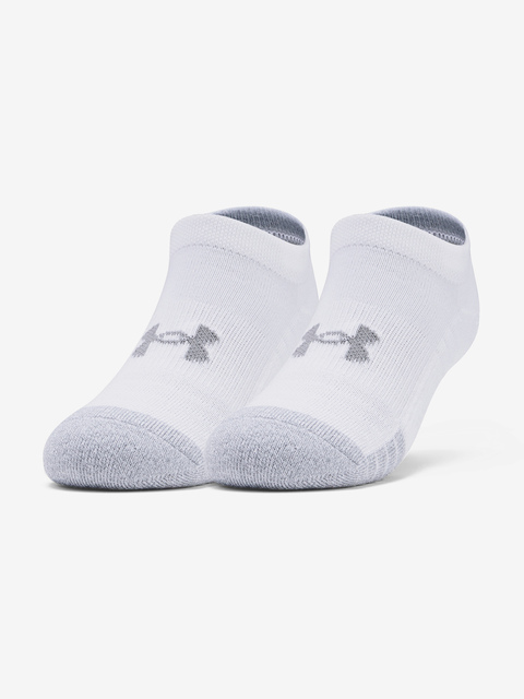 Ponožky Under Armour Youth Heatgear NS-WHT