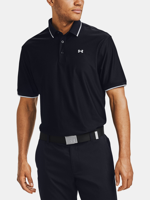 Tričko Under Armour UA Playoff Pique Polo-BLK