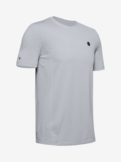 Tričko Under Armour Rush Seamless Fitted SS-GRY
