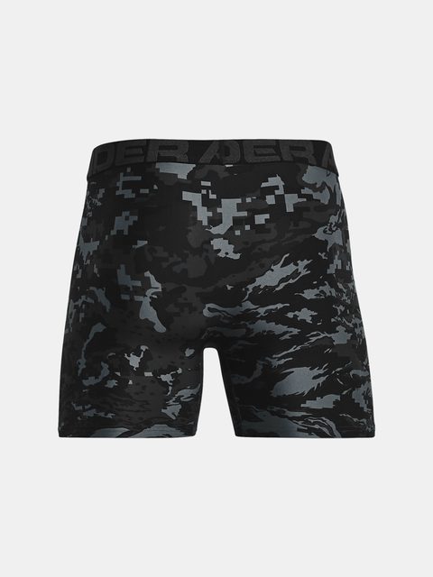 Boxerky Under Armour UA Tech 6in Novelty 2 Pack-BLK