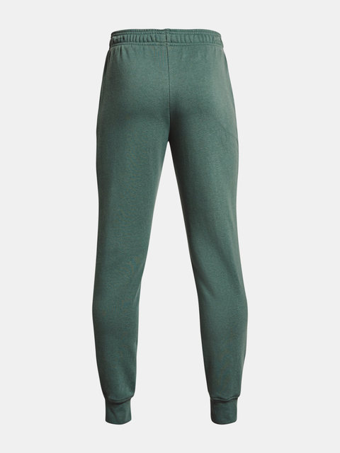 Tepláky Under Armour RIVAL TERRY PANTS-GRN