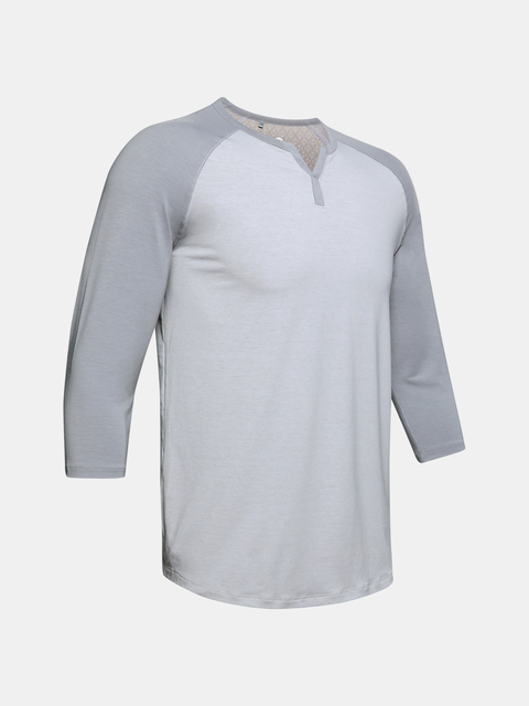 Pyžamo Under Armour UA Recover Sleepwear Henley-GRY