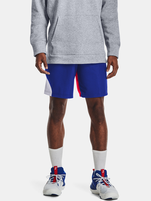 Kraťasy Under Armour EMBIID SIGNATURE SHORT-BLU