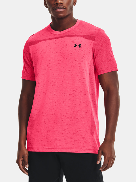 Tričko Under Armour Seamless SS-PNK
