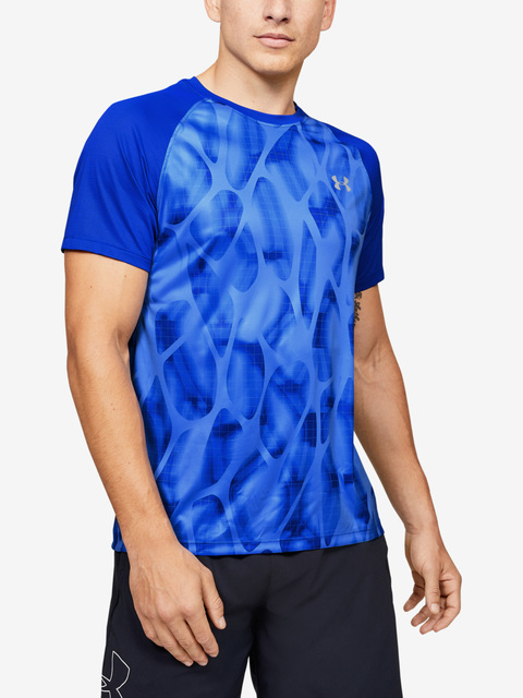 Tričko Under Armour M Qlifier Iso-Chill Printed Short S