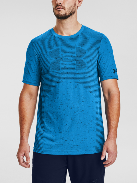 Tričko Under Armour Seamless Logo SS-BLU