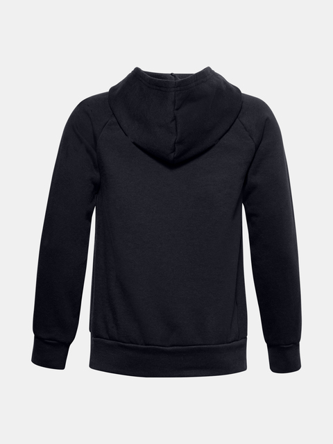 Mikina Under Armour RIVAL FLEECE HOODIE-BLK
