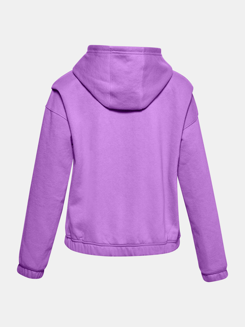 Mikina Under Armour Rival Fleece FZ Hoodie-PPL