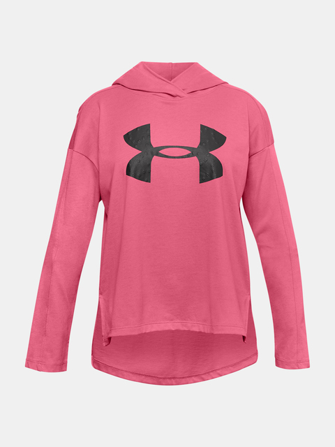 Tričko Under Armour Favorites Jersey Hoodie-PNK
