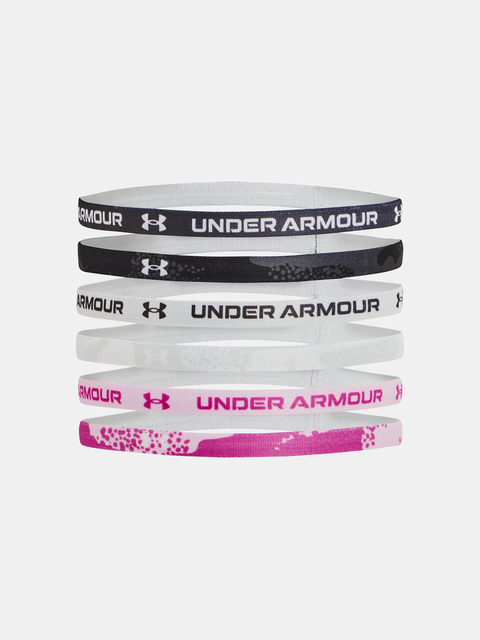 Čelenky Under Armour Girls Graphic HB (6pk)-GRY