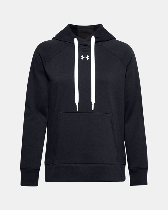 Mikina Under Armour Rival Fleece HB Hoodie-BLK