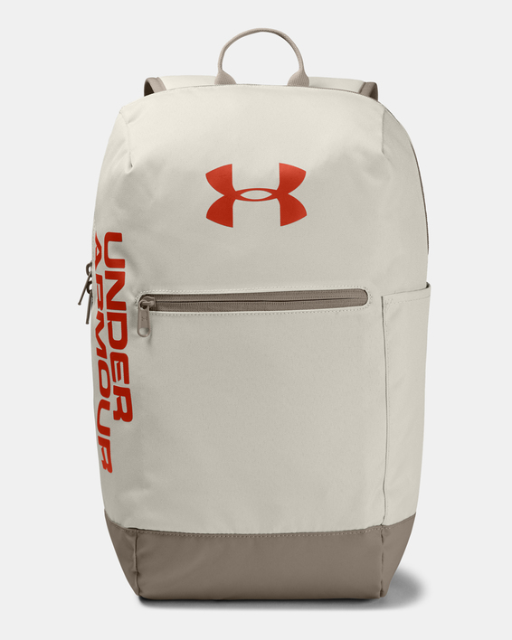 Batoh Under Armour UA Patterson Backpack-WHT