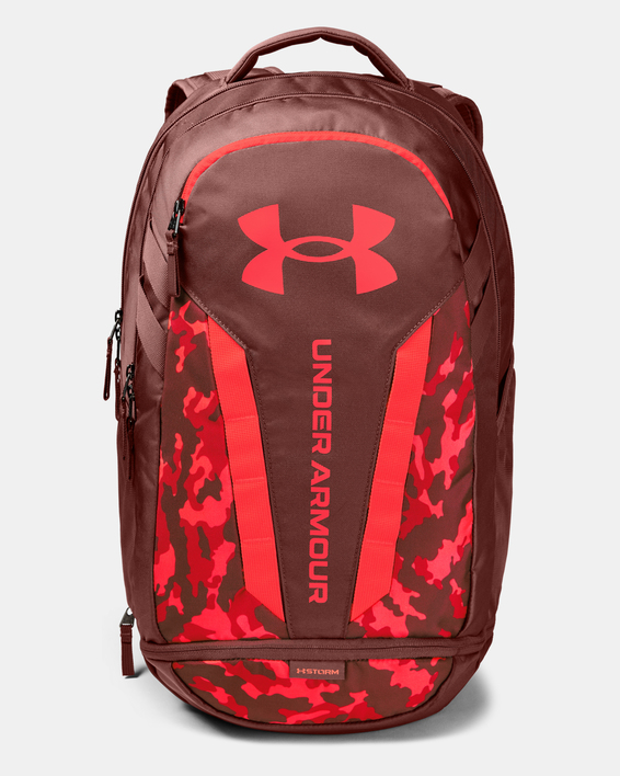 Batoh Under Armour UA Hustle 5.0 Backpack-RED