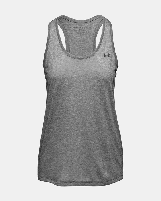 Tielko Under Armour Threadborne Train Tank-GRY