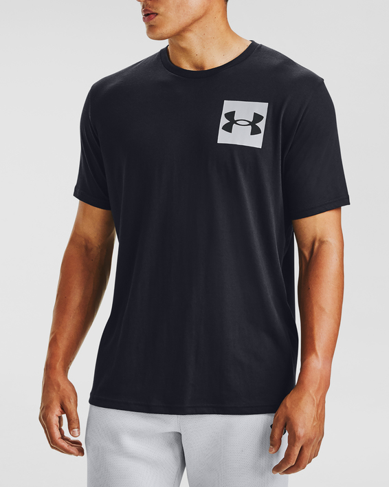 Tričko Under Armour UA BOX LOGO SS-BLK