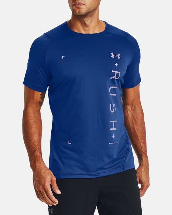 Tričko Under Armour RUSH HG 2.0 Graphic SS