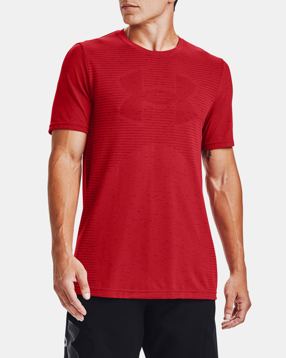 Tričko Under Armour Seamless Logo SS-RED