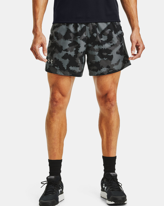 Kraťasy Under Armour UA Launch SW 5'' Camo Short-BLK