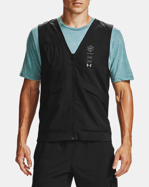 Vesta Under Armour M UA Run Anywhere Vest-BLK