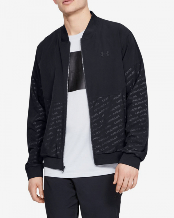 Bunda Under Armour Unstoppable Emboss Bomber-Blk