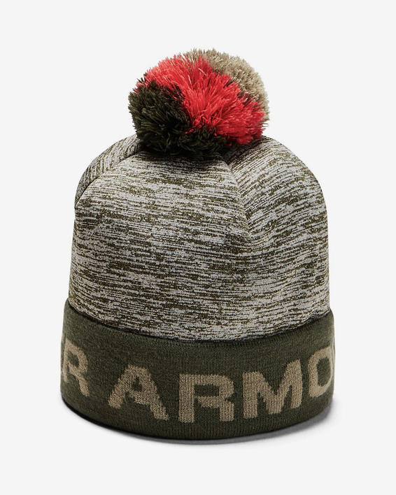Čapica Under Armour Boy\'S Gametime Pom Beanie-Grn