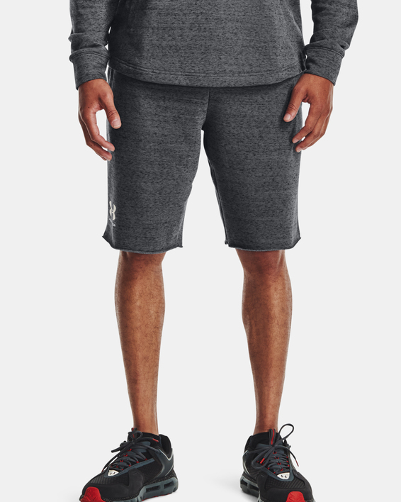 Kraťasy Under Armour  RIVAL TERRY SHORT-GRY