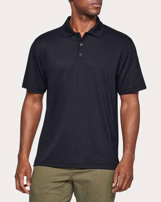 Triko Under Armour TAC PERFORMANCE POLO-BLK