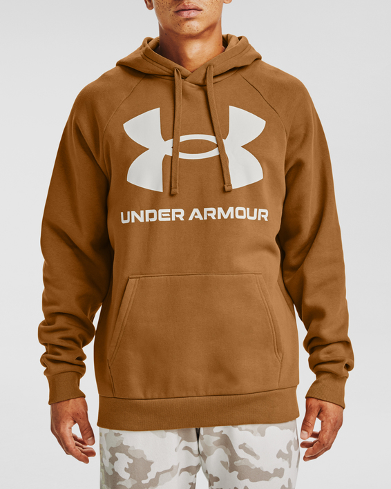 Mikina Under Armour Rival Fleece Big Logo HD-YLW