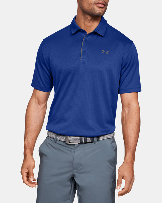 Tričko Under Armour Tech Polo-BLU