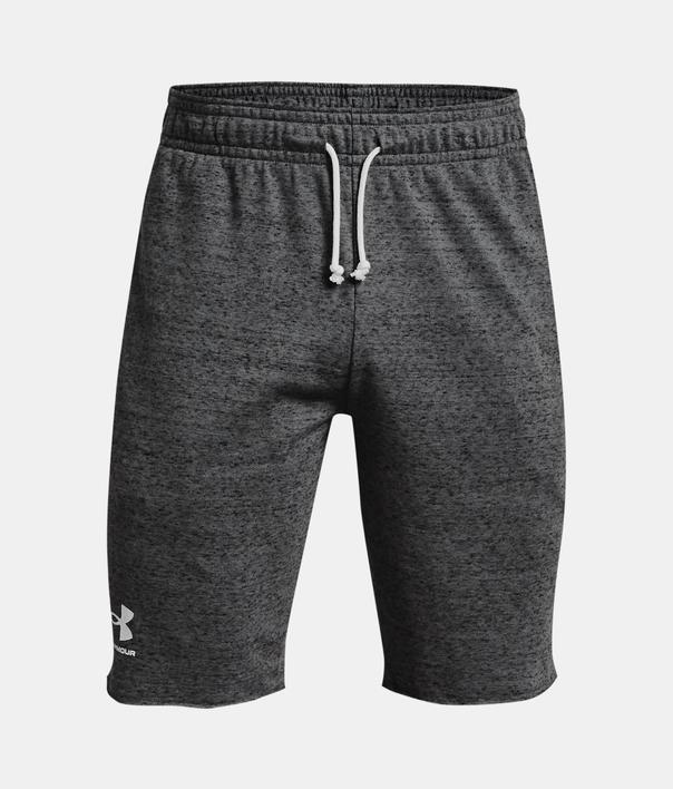 Kraťasy Under Armour  RIVAL TERRY SHORT-GRY (3)