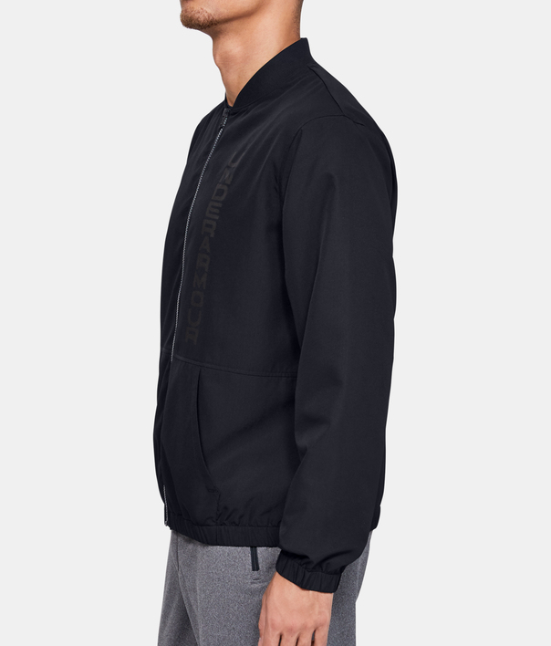 Bunda Under Armour Unstoppable Essential Bomber-Blk (5)